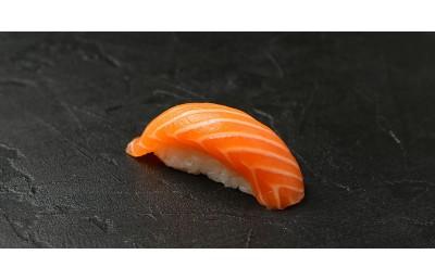 С копченым лососем ( 35 гр )
