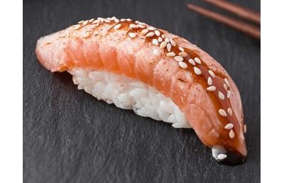 Опаленный лосось(вес 35 гр)