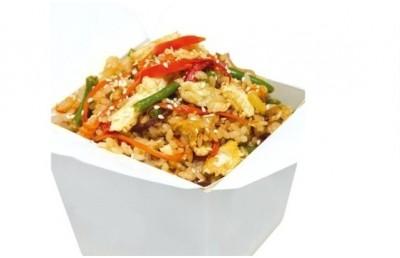 Wok тяхан с овощами (вес 250 гр)